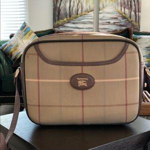 Authentic BURBERRYS  Shoulder Bag canvas Vintage